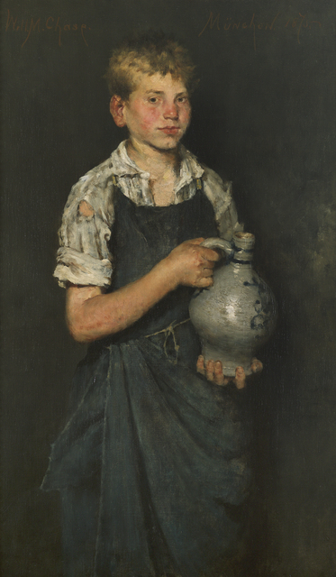 William Merritt Chase, 'Apprentice', 1875, Debra Force Fine Art