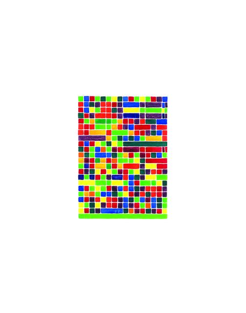 , 'Prelude in f minor (yellow-green), No. 12,' 2013, InLiquid