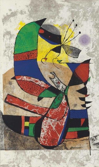Joan Miró, 'Gaudí I', 1979, Christie's