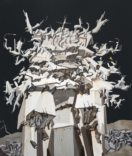 , 'The White Temple Beside the Floodway,' 2015, Yiri Arts