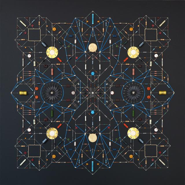 , 'Technological Mandala 101,' 2019, The Flat - Massimo Carasi