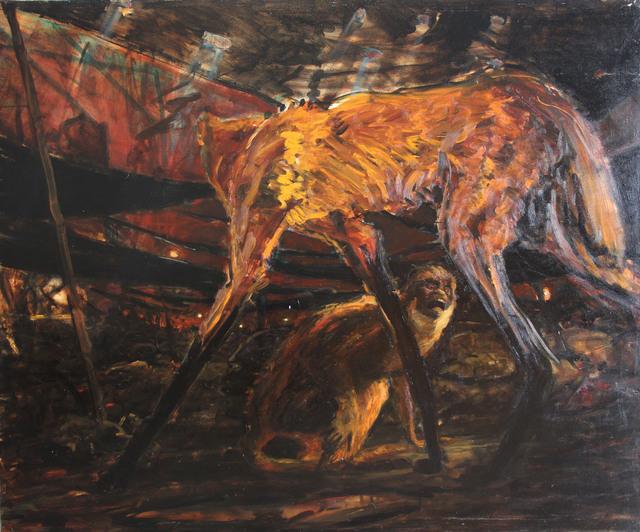, 'Sin titulo (coyote),' 2006, Galería Quetzalli