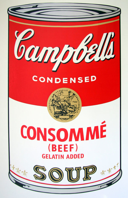 Andy Warhol, 'Campbell's Soup - Consomme - Sunday B. Morning (After)', ARTEDIO