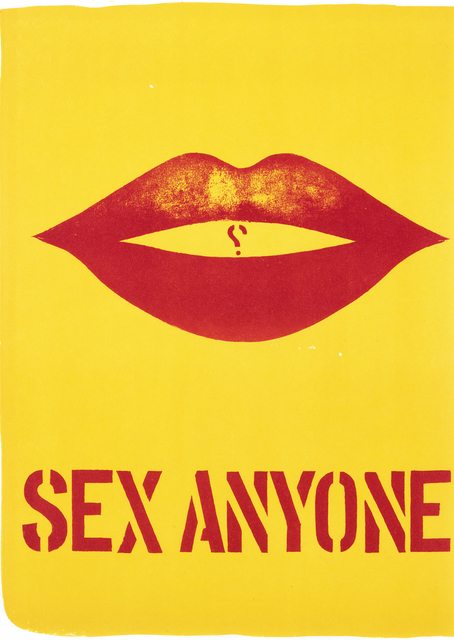 Robert Indiana, 'Sex Anyone', 1964, Tate Ward Auctions