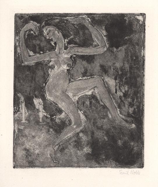 , 'Kerzentänzerin,' 1918, Charles Nodrum Gallery
