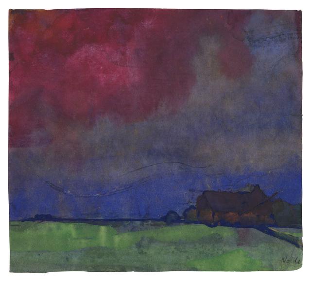 , 'Abendlandschaft Nordfriesland,' , Ludorff