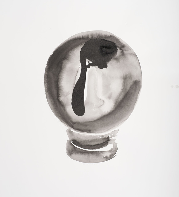 , 'Crystal Ball Work On Paper #5,' 2012-2013, Jane Lombard Gallery