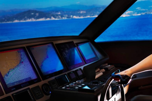 David Drebin, 'Steering Ship', 2018, CHROMA GALLERY