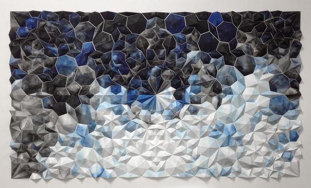 , 'Ara 111 in Blue,' 2015, Thomas Riley Studio