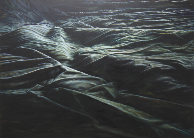 , 'Black waves II,' 2011, Galerie Van de Weghe