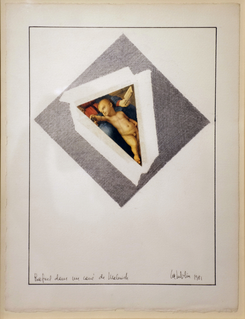 , 'Rafael dans le carré de Malevich,,' 1981, espaivisor - Galería Visor