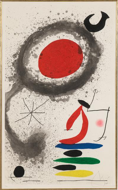 Joan Miró, 'Le soleil ébouillanté', 1969, Skinner
