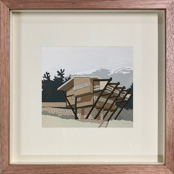 , 'Seidler Lodge,' 2019, Cynthia Corbett Gallery