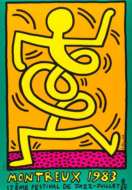 Keith Haring, 'Montreux 1983 (Prestel 9)', 1983, Forum Auctions
