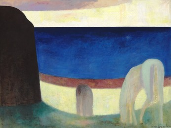 Horses near the Sea, Bornholm