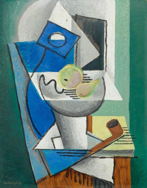 Leo Leuppi, 'Untitled', 1930, Painting, Oil on cardboard, Koller Auctions