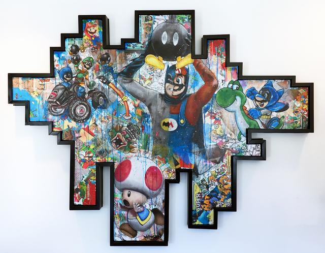 Bao, 'Super BatMario Bros', 2018, Thompson Landry Gallery