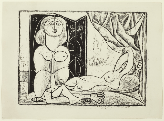 , 'Les Deux Femmes nues, State 14, 25th January 1946,' 1946, Alan Cristea Gallery