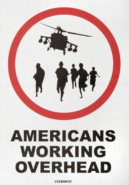 Banksy, 'Americans Working Overhead & Neighbourhood Watch', Tate Ward Auctions