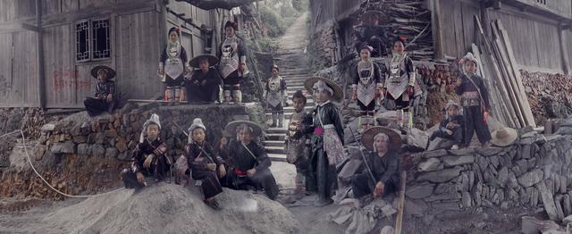 , 'Basha Miao Villiage, Congjiang,' 2016, CAMERA WORK