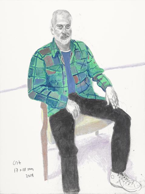David Hockney, 'Sully Bonnelly', 2019, Annely Juda Fine Art