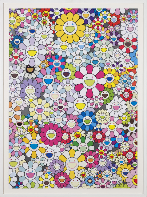 , 'An Homage to Yves Klein, Multicolor D,' 2012, Gagosian