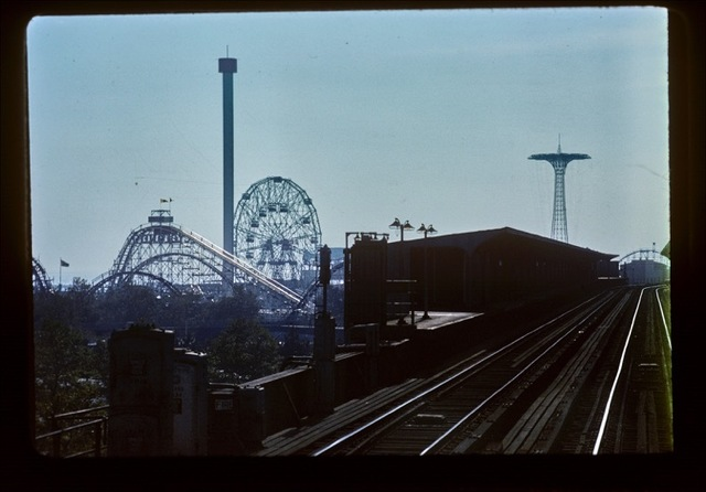 , 'F Train to Coney Island,' 1978, CHRISTOPHE GUYE GALERIE