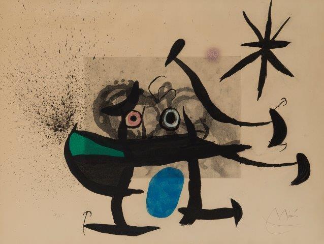 Joan Miró, 'L'Invention du Regard [Dupin 537]', 1970, Roseberys