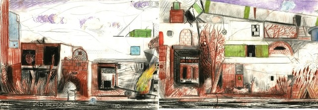 , 'Red Hook Ruins (diptych),' , Cross Contemporary Art