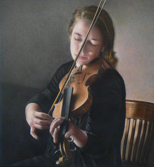 , 'Girl With a Violin,' , Mira Godard Gallery