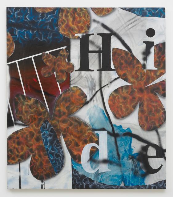 , 'Flower Power,' 2017, Roberts & Tilton