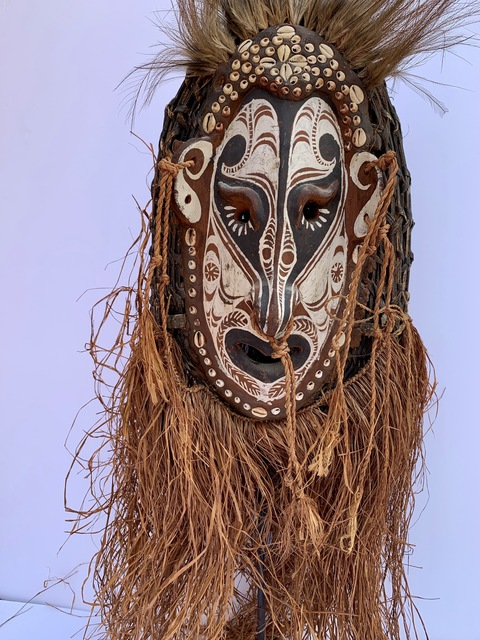 Anonymous, 'Tribal Mask from Papua New Guinea', ca. 1990, Posner Fine Art