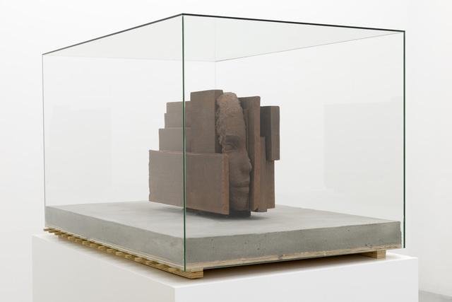 Mark Manders, 'Iron Head On Concrete Floor', 2013, Zeno X Gallery