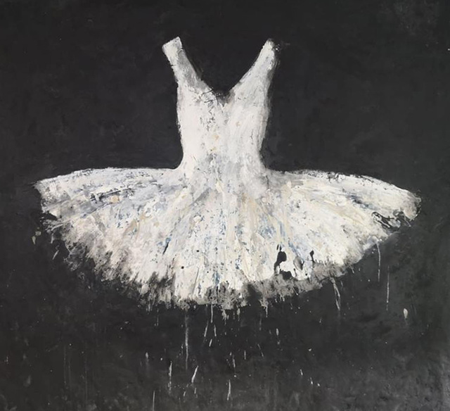 , 'White Dress,' 2018, Galleria Ca' d'Oro