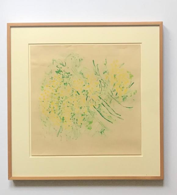 Beauford Delaney, 'Bouquet de Mimosas', 1978, Drawing, Collage or other Work on Paper, Gouache on beige paper, Alpha 137 Gallery
