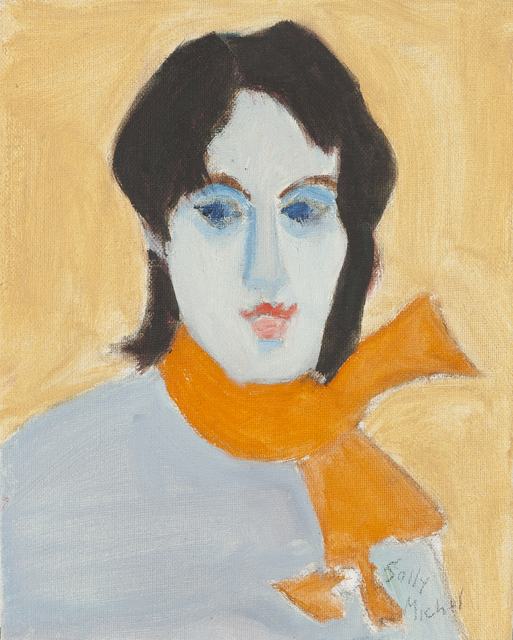 Sally Michel, 'Brunette', Painting, Oil on Board, Childs Gallery