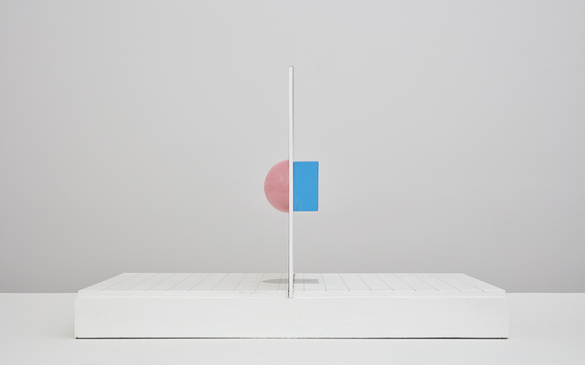 , 'Sphere and Cube,' 1967, Kayne Griffin Corcoran