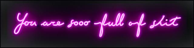 David Drebin, 'You're so full if shit', 2017, Art Angels