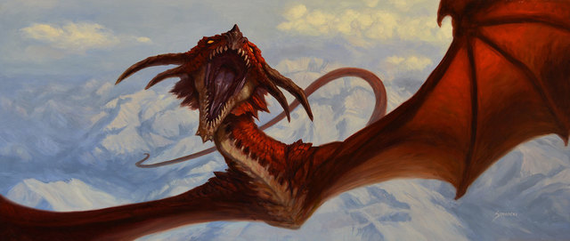 Matthew Stawicki, 'Dragon Flight', 2015, Painting, Oil on masonite, IX Gallery