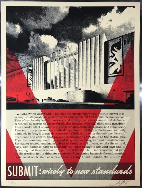 Shepard Fairey, 'OBEY CONFORMITY FACTORY', 2019, New Union Gallery