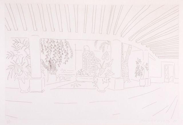 , 'Mexican Hotel Garden,' 1984, Lyndsey Ingram Ltd.