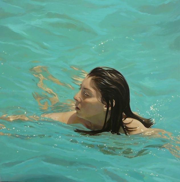 , 'Swimming II,' , Sala Parés