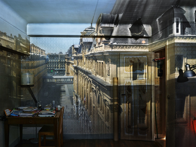 , 'Camera Obscura: View of Saint Lazare Train Station, Paris,' 2015, Huxley-Parlour