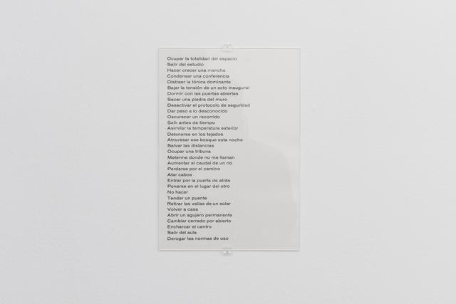 , 'Proposiciones,' 2016, García Galeria
