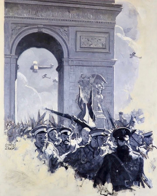 Kenneth Tyler Camp, 'World War 1 Illustration', 20th Century, The Illustrated Gallery