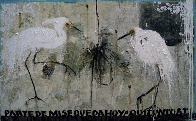 , 'UN NIDO ENTRE EL MURO,' 2015, Jorge Mendez Gallery