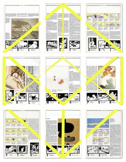 , 'Grabado sobre grabado,' 2017, Galería Tiro Al Blanco