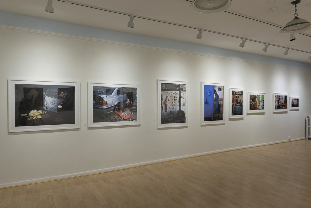 "Installation view ""Susan Copich + Richard Edelman: Photographs"" at Cross Contemporary Art March 3- April 1, 2018 © Richard Edelman 2018"