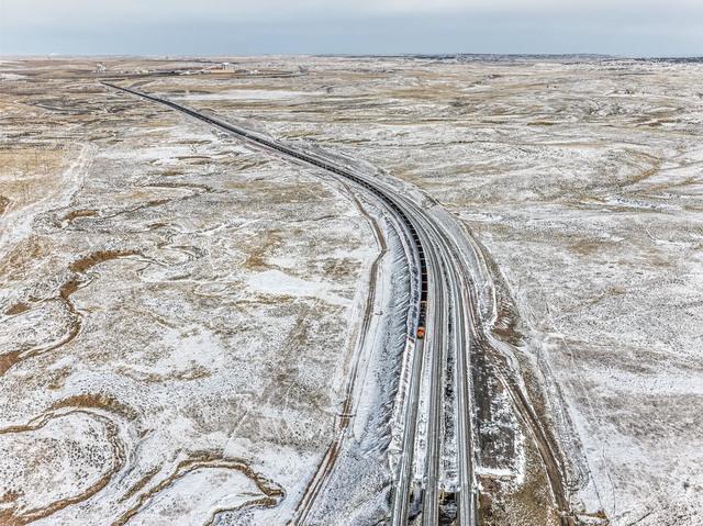 , 'Coal Train, Near Gilette, Wyoming, USA,' 2015, Robert Koch Gallery