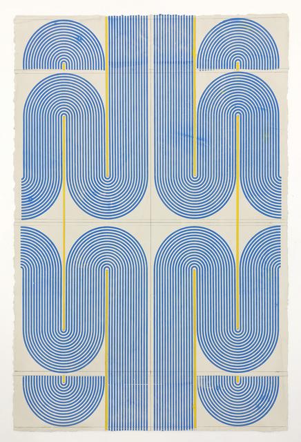 Elise Ferguson, 'Eaves', 2020, Painting, Pigmented plaster on paper, Massey Klein Gallery